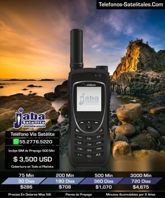 Iridium 9575 PTT telefono Satelital y Radio Comunicaciones